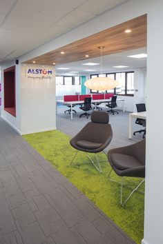 Alstom Office Interior Design By Amarelle