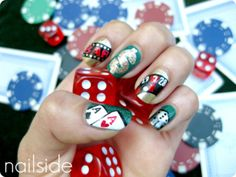 79 Best Las Vegas Casino Nail Art Images On Pinterest Las Vegas