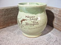 Mug 16 oz   The Hobbit  Smaug  by Blaine by batwoodcreations