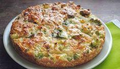 Zdravý slaný dort bez přidání mouky. Brokolice a květák tvoří základ tohoto receptu. Dobrou chuť!