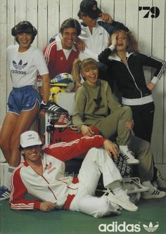 As comenzaban los 80s en adidas Originals
