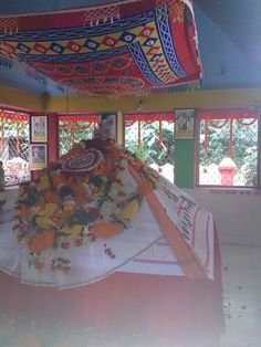 Baba's Samadhi (tomb) at Garoi Ashram on a location that was identified and marked by him before he left his physical body.
