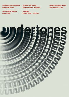 The Undertones at Victoria Hall Hanley - Graphis