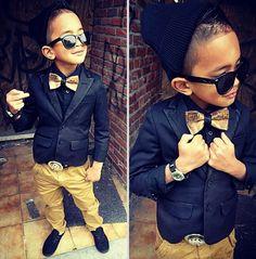 estilo hipster para niños