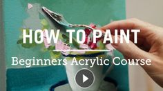Free online acrylic painting techniques You can discover over 6+ hours of free acrylic painting videos ranging from the secrets of colour mixing to choosing the perfect brush. I teach classical pai…