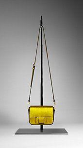 Bow Detail Metallic Crossbody Bag