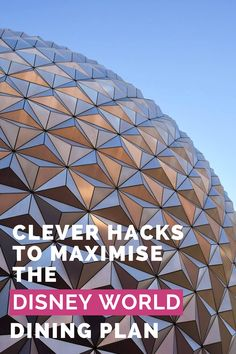 These Disney Dining Plan hacks will show you how to maximise your $$ value and make your credits stretch further! Disney Dining Plan, Disney World Planning, Disney Tips, Hacks, Vacation, How To Plan, Eat, Travel, Trips