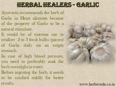 10 Reasons Why #Garlic is So Good for You ! #Ayurveda #Herbs   #Blog: http://drsonicakrishan.blogspot.in/2013/03/ayurveda-recommends-herb-of-garlic-why.html   #Video: https://www.youtube.com/watch?v=RLa6JwNo7T4