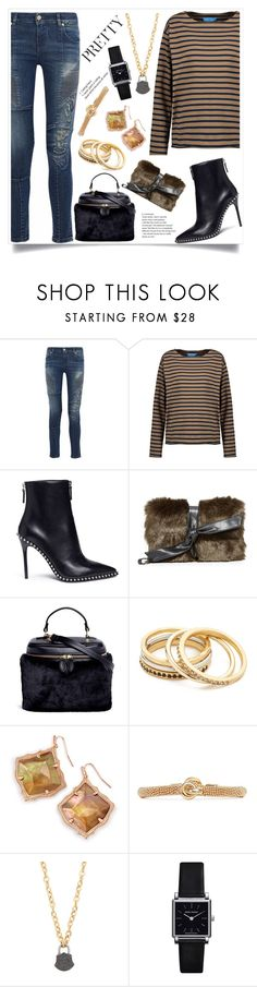 """""""Passion for Fashion"""" by justinallison ❤ liked on Polyvore featuring Pierre Balmain, M.i.h Jeans, Alexander Wang, Vasic, Madewell, Kendra Scott, Eddie Borgo, Ela Rae and Isabel Marant"""