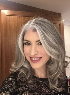 Gray Wigs Lace Frontal Wigs Best Shampoo For Gray Hair And Pepper Gray Hair Grey Hair Don't Care, Long Gray Hair, Grey Wig, Silver Grey Hair, White Hair, Natural Hair Growth, Natural Hair Styles, Grey Hair Natural Young, Shampoo For Gray Hair