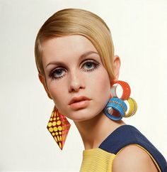 """Model Twiggy was a staple in Mod fashion of the 60's that was short for """"modernist"""" style. The movement can be traced back to the suburban areas of Britain."""