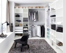 Walk in wardrobe inspiration dressing room in 2019 wardrobe room, closet be