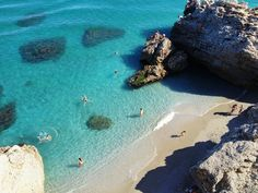 Nerja, Spain - gorgeous swims in the Mediterranean!