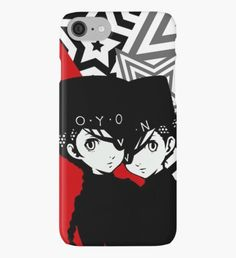 Persona 5 Caroline and Justine Confidant iPhone Case/Skin