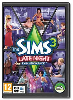 The Sims 3 - expansion pack - Late night