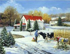 Linda Picken Art Studio / Postman's Gift.jpg