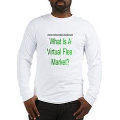 What Is A Virtual Flea Market? Green Long Sleeve T