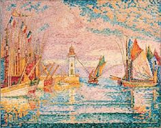 Lighthouse Groix by Paul Signac