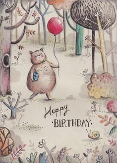 Alice Wong - Birthday Bear