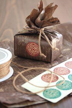 Valentine Chocolate バレンタインのラッピング「チョコレート」