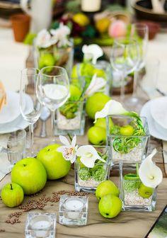 Viele tolle Beispiele für ausgefallene Tischdeko haben wir in unserer Bildergalerie für euch zusammengestellt. Lasst euch inspirieren!