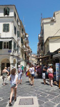 Kerkyra Corfu, Athens, Greece, Street View, Greece Country, Athens Greece