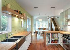 6 Butcher kitchen countertops material. kitchen countertop.