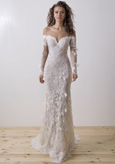 Wonderful Perfect Wedding Dress For The Bride Ideas. Ineffable Perfect Wedding Dress For The Bride Ideas. Lace Wedding Dress, Dream Wedding Dresses, Designer Wedding Dresses, Wedding Dress Styles, Bridal Dresses, Wedding Gowns, Dress Lace, Diamond Wedding Dress, Modest Wedding
