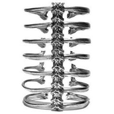 Spine cuff bracelet