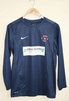 Nike Dri-Fit Sport Steve Porter FC Pickwick Mens Tshirt Size XL 100% Polyester