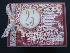 Handmade Christmas Card on Etsy, $4.00