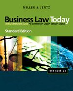 Solution Manual for Business Law Today 9th Edition by Miller ISBN 0324786522 9780324786521 INSTRUCTOR SOLUTION MANUAL VERSION  http://solutionmanualonline.com/product/solution-manual-business-law-today-9th-edition-miller-isbn-0324786522-9780324786521-instructor-solution-manual-version/