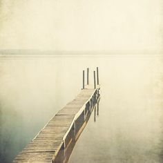 Bestill Landscape photograph Lake Pier por EyePoetryPhotography