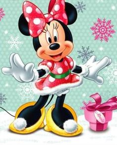 Christmas Minnie Mouse!