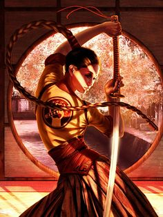 Martial Arts!  The Fantasy Art of Steve Argyle | Fantasy Inspiration. Gorgeous art! Great talent.