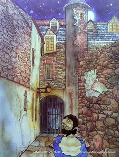 1982 WIND in the WILLOWS TOAD Escapes Prison Michael Hague