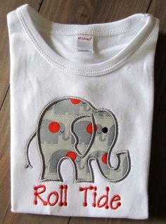 "Alabama ""Roll Tide"" Shirt @Lisa Phillips-Barton Phillips-Barton Veasey"