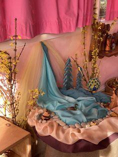 Spring Nature Table, Waldorf Kindergarten, Felt Diy, Nature Crafts, Imaginative Play, Kids Room, Decoration, Christmas, Home Decor