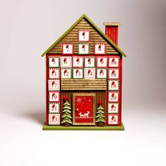 I've just found Nordic Christmas House Advent Calendar. A large scandinavian style Christmas house advent calendar with 24 drawers. Reusable Advent Calendar, Wooden Advent Calendar, Advent Calendars, Sass & Belle, Nordic Christmas, Scandinavian Style, Something To Do, Personalized Gifts, Holiday Decor