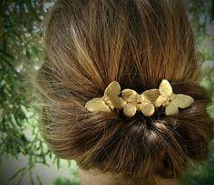 Mariposa peinarse mariposas oro pelo peine mariposa pelo Clip mariposa  tocado novia boda casco boda joyería 5eb88e213d57