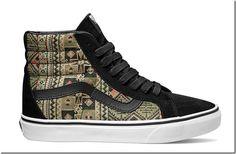 Vans lança sneaker inspirada no Marrocos. -  WestinMorg / Blog de Moda Masculina e Variedades