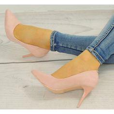Luxusní lodičky pro dámy v světle růžové barvě - manozo.cz Stiletto Heels, Pumps, Shoes, Fashion, Moda, Zapatos, Shoes Outlet, Fashion Styles, Court Shoes