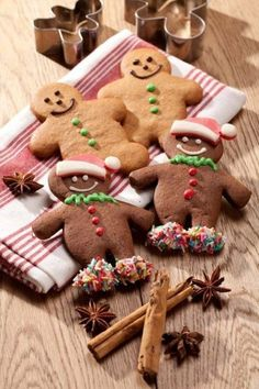 Gingerbread Men..I never turn down a Delicious New Man!! LOL!!! Holiday Cookie Gingerbread Christmas