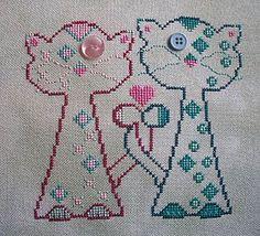 Carolyn  Manning Designs - Whiskerkins - Kitty Love – Stoney Creek Online Store