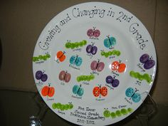 Dickinson Silent Auction - March 17, 2012 - 11:00-3:30: Thumbprint Plates are Now on Display!