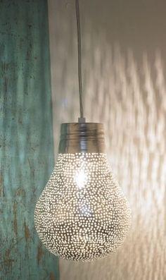 Wedding+Ideas:+Silver-pear-light