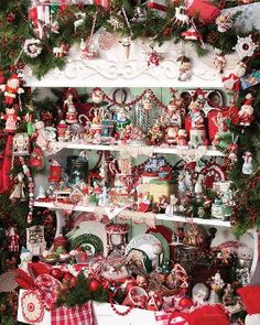 """Mrs. Claus' Cupboard"" ~ a  1000 piece jigsaw puzzle from the Hallmark Keepsake Collection of Springbok Puzzles (2012)"