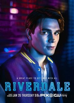 "K.J. Apa is Archie Andrews in the new TV series ""Riverdale"", based on the classic Archie Comics, on the CW."