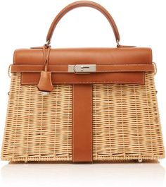 05910b674dd Heritage Auctions Special Collections Hermès 35cm Fauve Barenia Leather And  Osier Wicker Limited Edition Kelly Picnic. Luxury BagsLuxury ...