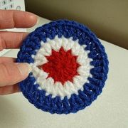 How to Crochet a 4th of July Coaster | eHow